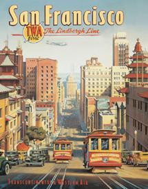 Erickson - San Francisco Tin Sign