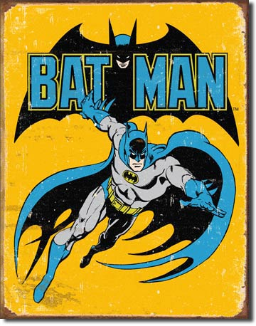 Batman Retro Tin Sign