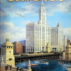 Erickson - Chicago Tin Sign