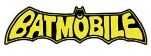 Bat Mobile Decals