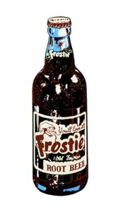 FRO-002 Frostie Bottle Decal