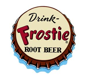 FRO-CAP Frostie Bottle Cap Decal
