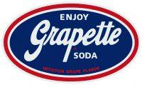 """Enjoy Grapette Soda - 4.25"""" x 8"""""""