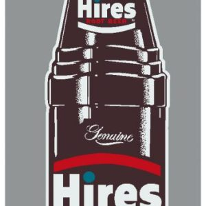 HIRES:HIR-002-Hires Bottle Decal