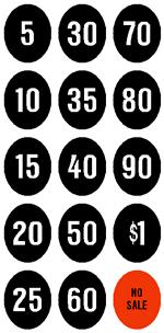 NUM-001 - Cash Register Numbers