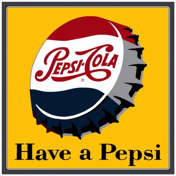 PEPSI:PEP-015-Have a Pepsi Bottle Cap Decal
