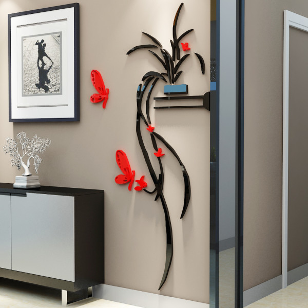 30x50 Cm Acrylic Tree Wall Decor Gl Decoration