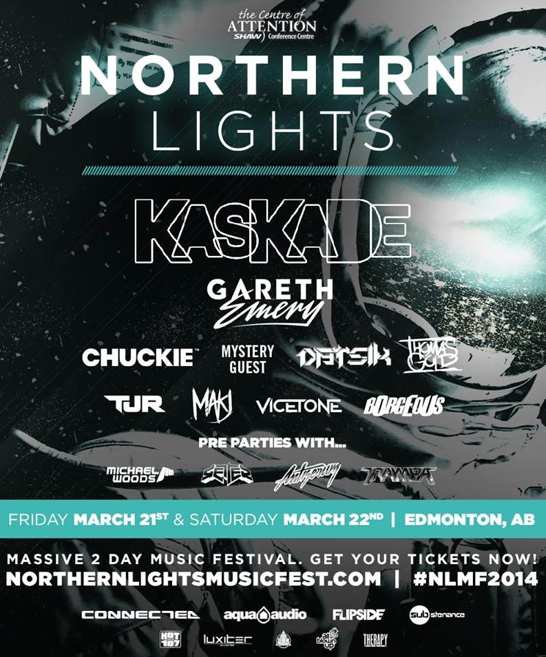 Northern Lights Edmonton Lineup
