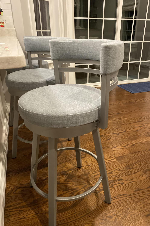 Buy Amisco Ronny Swivel Stool Free Shipping Barstool Comforts