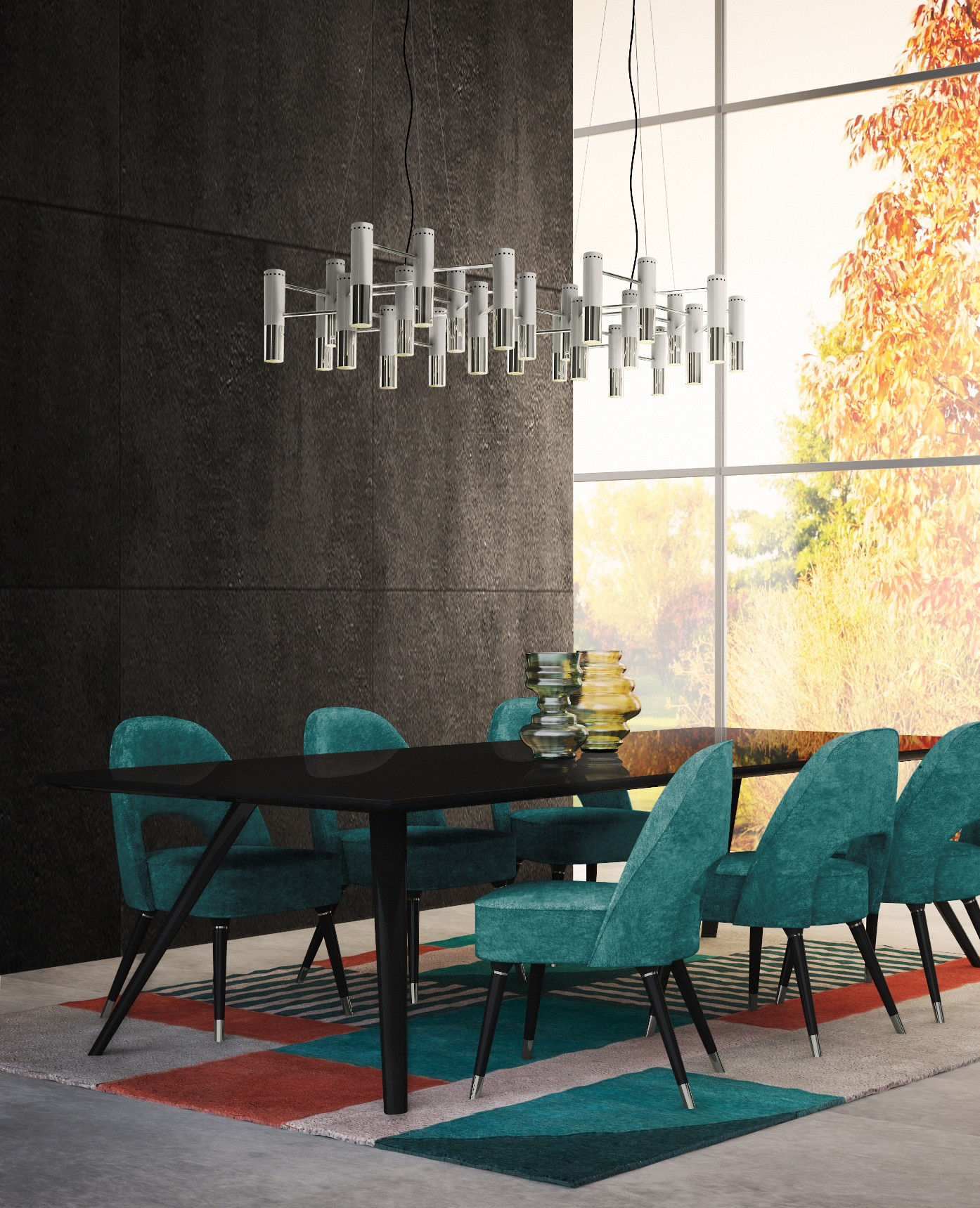 Modern Dining Room Chairs You Don t Want To Miss Out On     Bar Stools     Mid century modern homes are trending nowadays  and to be honest  why  wouldn t they  That timeless experience that brings the flavor of the past