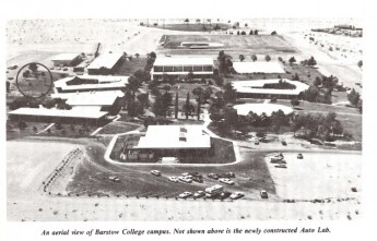 1981 Aerial view of Campus