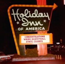 1973 - The Basketball Team won Desert Conference Title and State Championship at Ventura, CA in Small College Playoffs