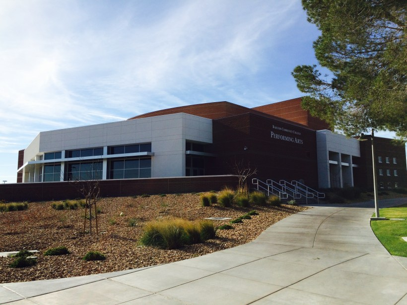 Photo of the Performing Arts Center at Barstow Community College