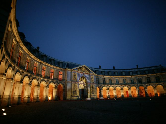 Presentation Of The Equestrian Academy Of Versailles
