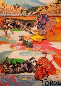 cartel-feria abril toros sevilla 2017