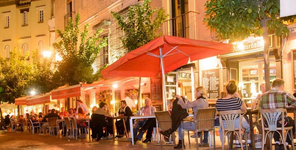 best tapas bars seville downtown