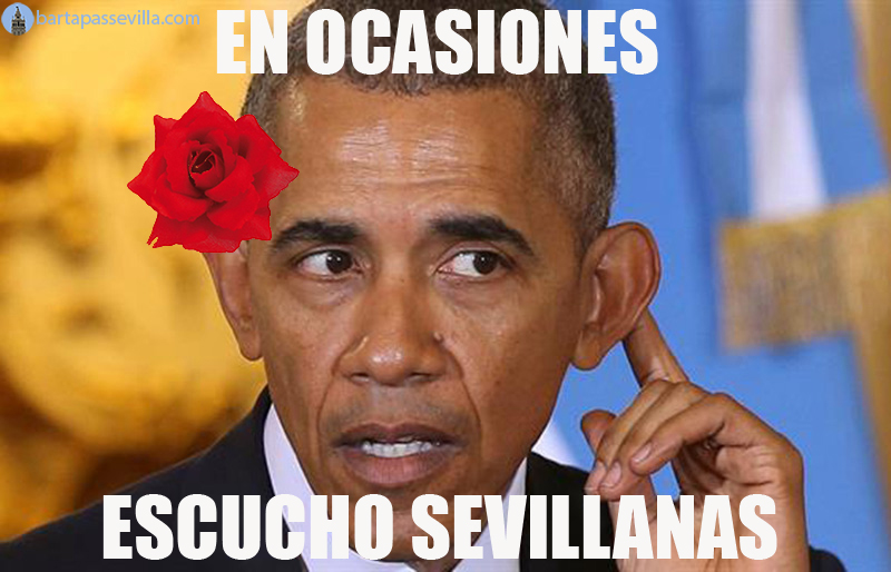 obama meme sevillana