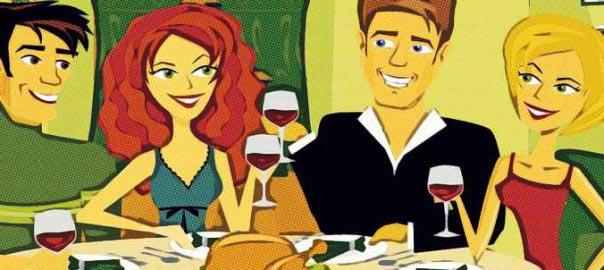 cena de amigos en navidad sevilla