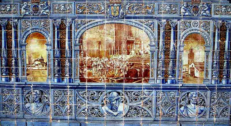 Curiosidades de sevilla azulejos de cer mica bar tapas for Que son los azulejos