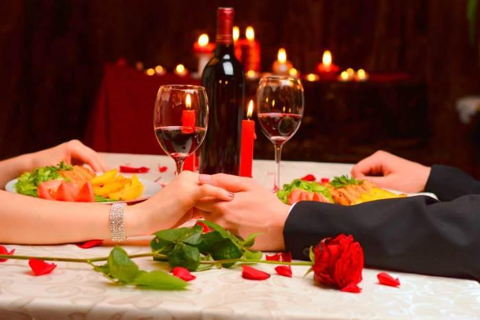 romantic dinner in seville