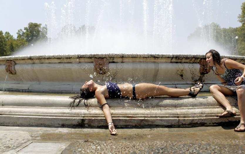 verano en sevilla baño