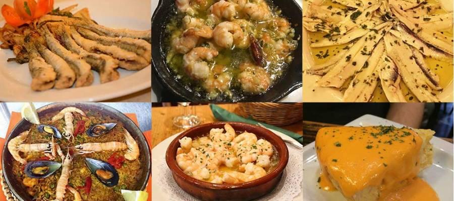 Tapas típicas españolas en Sevilla
