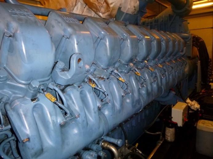 MTU 20V4000G62 generator set