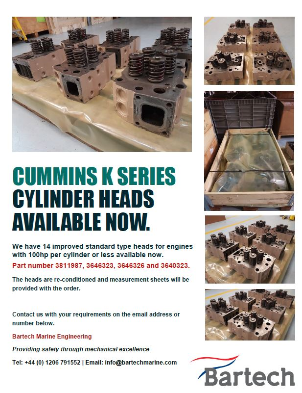 Cummins K Series Head for sale