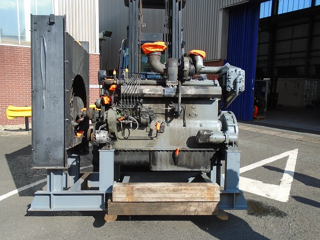 Dorman 6 PTCR Engine ready for overhaul