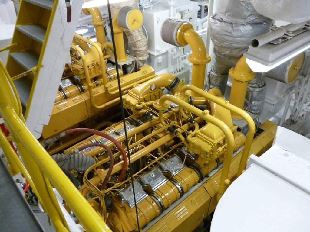 Paxman 12RPH engine