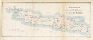 Hoofddriehoeken - Java en Madoera - Stemler (1875)