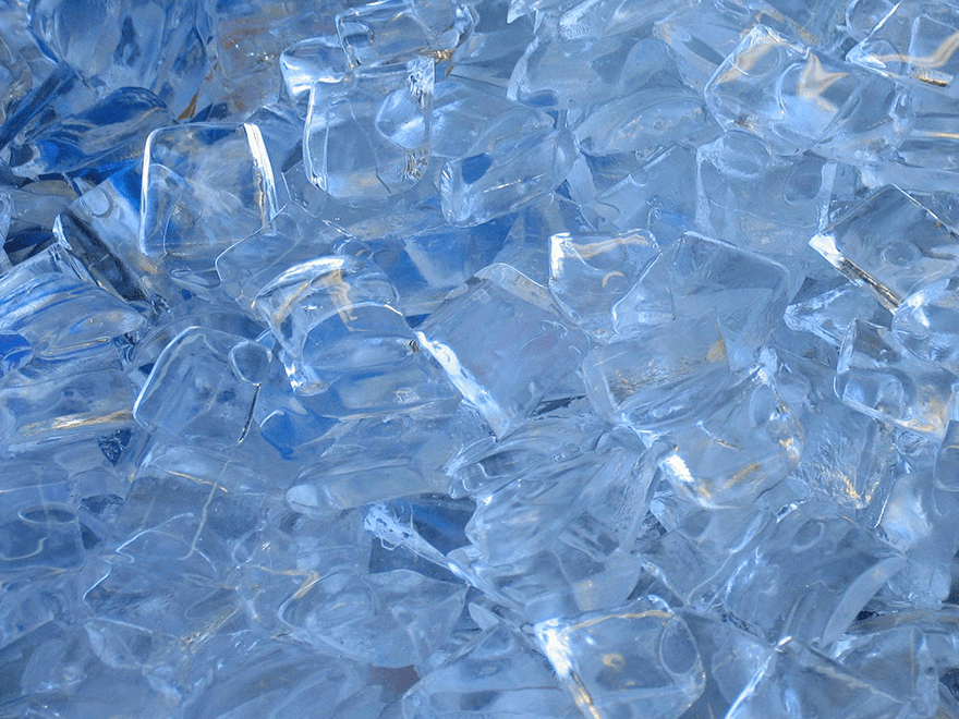 The most important ingredient in 90% of drinks – Ice