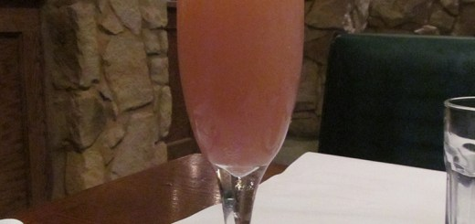 """Bellini Cipriani, Macaroni Grill, Dunwoody GA"" by John Phelan - Own work. Licensed under Creative Commons Attribution-Share Alike 3.0 via Wikimedia Commons - http://commons.wikimedia.org/wiki/File:Bellini_Cipriani,_Macaroni_Grill,_Dunwoody_GA.jpg#mediaviewer/File:Bellini_Cipriani,_Macaroni_Grill,_Dunwoody_GA.jpg"