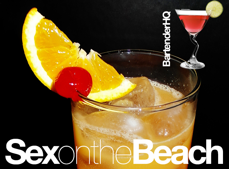 How to make a Sex on the Beach Cocktail