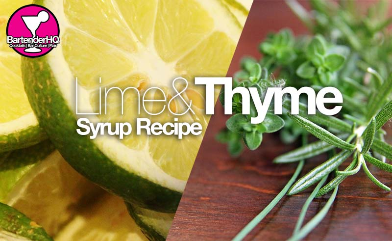 Lime & Thyme Syrup