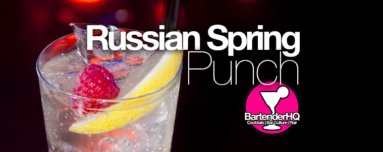 Russian Spring Punch Cocktail Recipe