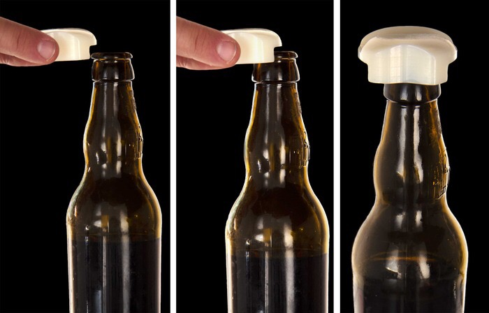Pop & Stop Beer opener & Saver