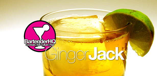 Ginger Jack Cocktail Recipe