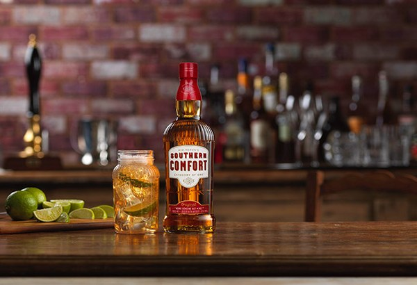 Southern Comfort Launches New Bottle Design