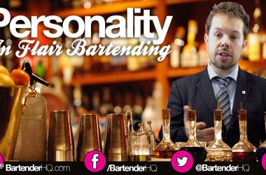 Personality-in-flair-bartending