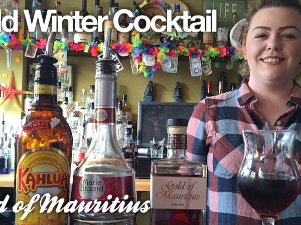 Gold Winter Cocktail: Gold of Mauritius