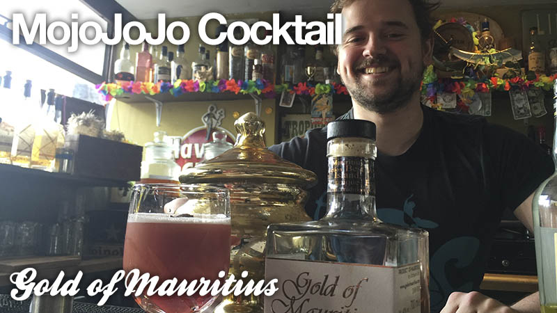 MojoJoJo Cocktail: Gold of Mauritius