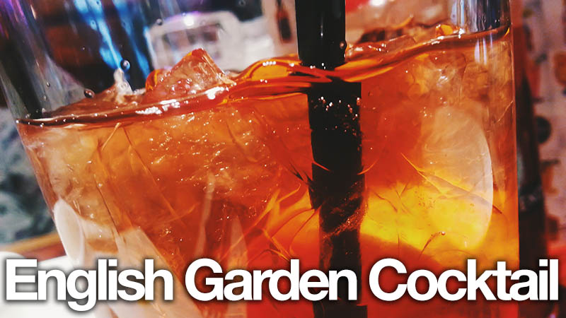 English Garden Cocktail Recipe