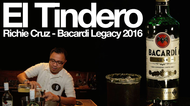 El Tindero: A Bacardi Legacy Cocktail by Richie Cruz
