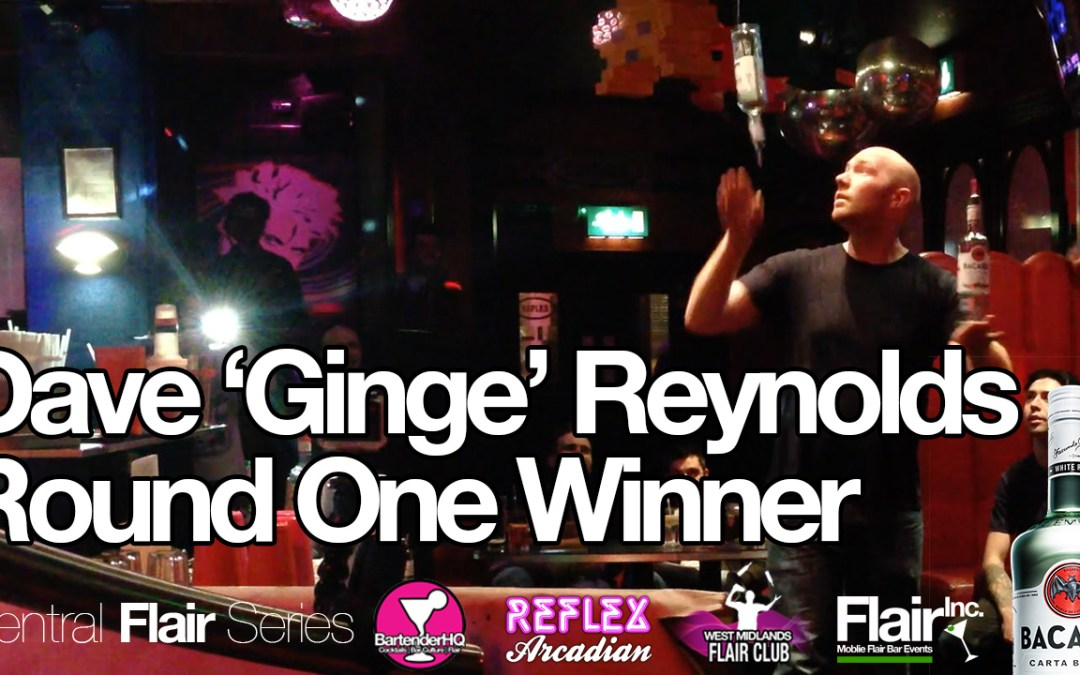 """Central Flair Series – Dave """"Ginge"""" Reynolds, Round 1 Champion"""
