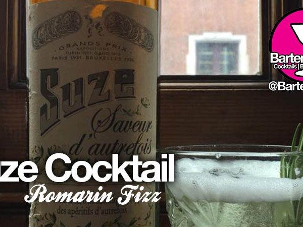 Romarin Fizz | Suze Cocktail Recipe