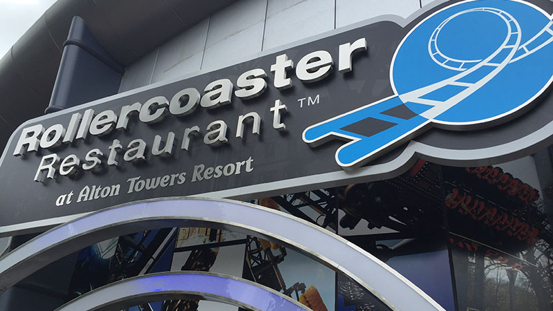 Rollercoaster Restaurant at Alton Towers – A Review