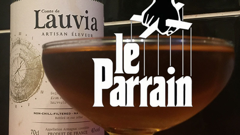 Le Parrain Cocktail Recipe – Your French Godfather