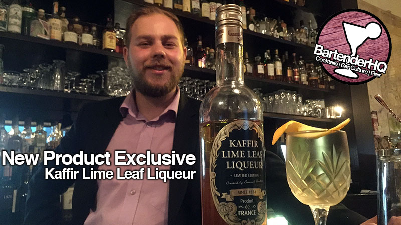 Kaffir Lime Leaf Liqueur Launch from Gabriel Boudier