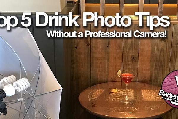Top 5 tips for Great Cocktail Photos without a DSLR